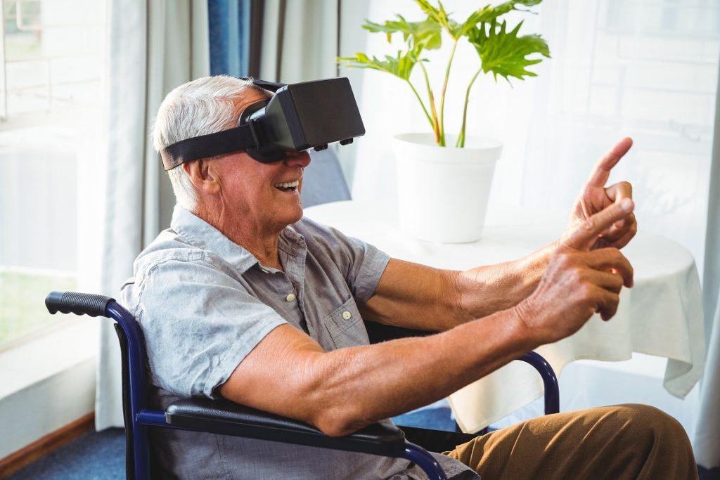 Seniors in VR